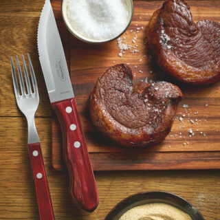 Jumbo Steak Knife 5 Inch Polywood