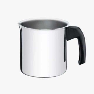 Stainless steel milk boiler with bakelite handle Ø 12cm