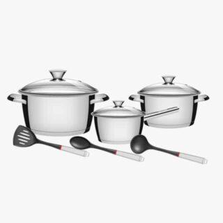 9 Pcs Cookware Set Allegra