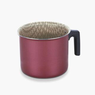 12cm Red Tramontina Paris Milk Boiler