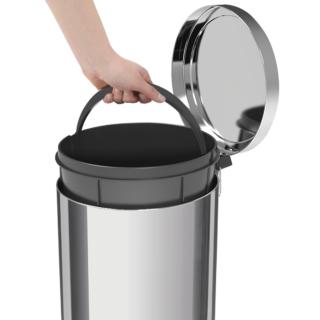 30 liters Trash Bin Stainless Steel