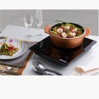 Lyon Casserole 24 cm and 3.7 liters -  Forged Aluminum 8 mm Walls Golden  with Interior Starflon T5 Non-Stick Coating and Lid