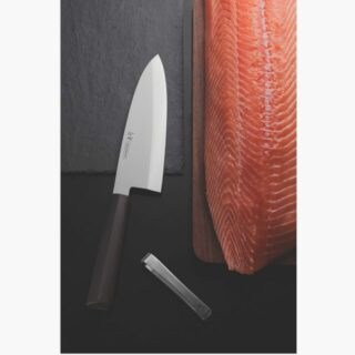 Sushi Line - 8 inches Deba Knife  High Precision with Antibacterial Handle