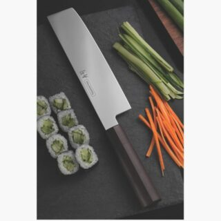 Sushi Line - 7 inches Nakiri Knife  High Precision with Antibacterial Handle