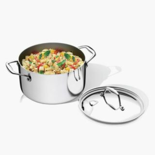 Trix Gourmet Casserole 20 cm 3.1 liters Stainless Steel 2.6 mm Wall -Try-Ply