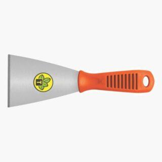 10 cm Metallic Rigid Scraper, with Plastic Handle