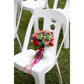 Jatiúca Bistro Chair in White Polypropylene