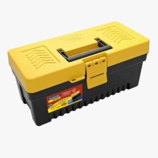 """13\"""" Plastic Tool Box with plastic tray removable"""