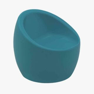 Oca Children's Blue Polyethylene Armchair
