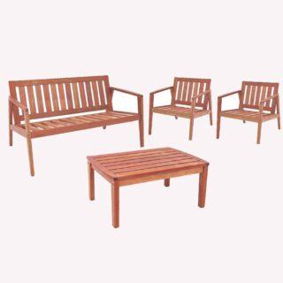 FSC Varanda Sofa Set 2 seater +2 single seater + Coffee table