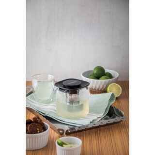 Tramontina Service double-walled glass tea and coffee cups without handles, 2 pc set