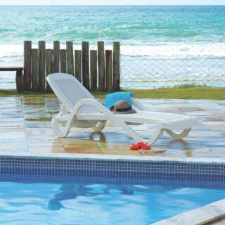 Grey Cancun Sunbed