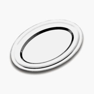 Oval Flat Platter 25x18cm Service