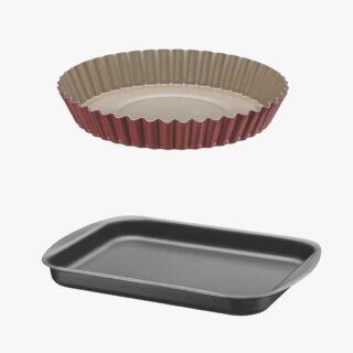 24CM TART MOLD+40CM ROASTING PAN
